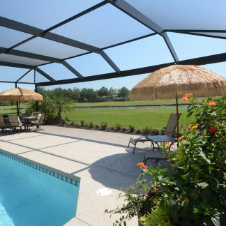 Phifer TuffScreen No-See-Ums Pool and Patio Screen